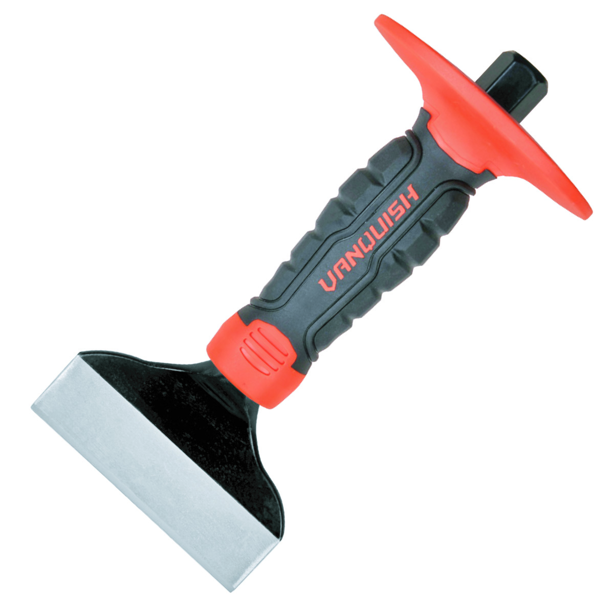 BRICK CHISEL WITH GUARD-CRMO BLADE