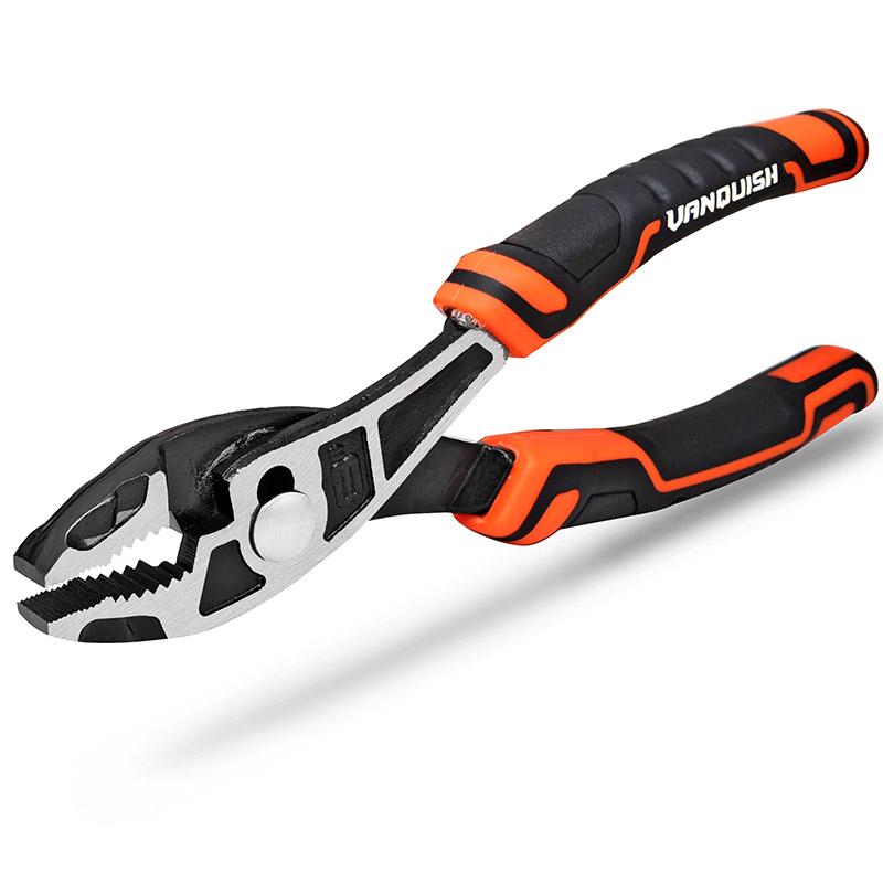 HIGH_LEVERAGE SLIP JOINT PLIERS